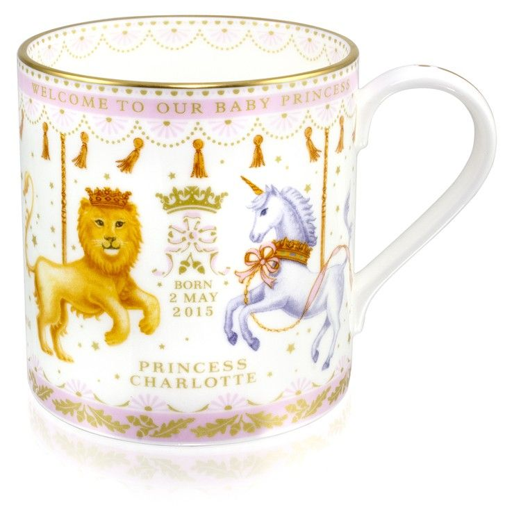 Royal Baby Pink Coffee Mug Royal Collection Trust Shop