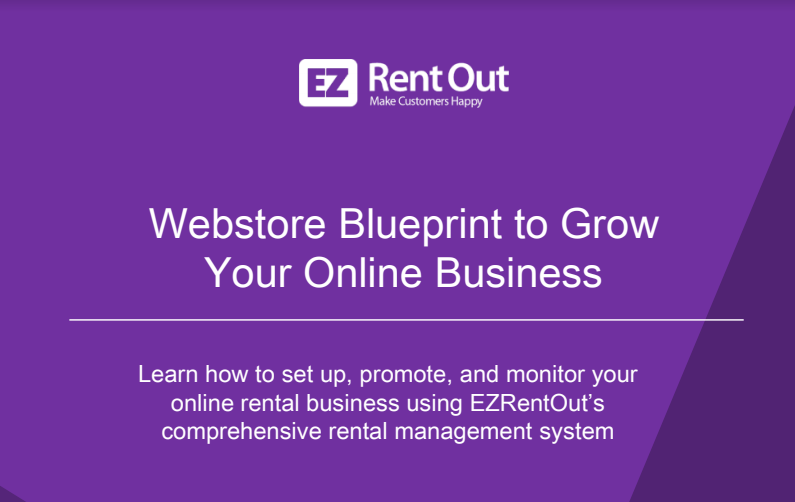 You Want Your Online Rental Business To Grow Steadily We Ve Put Together A Handy Guide For Our Customers To Help T Online Business Web Store Online Visibility