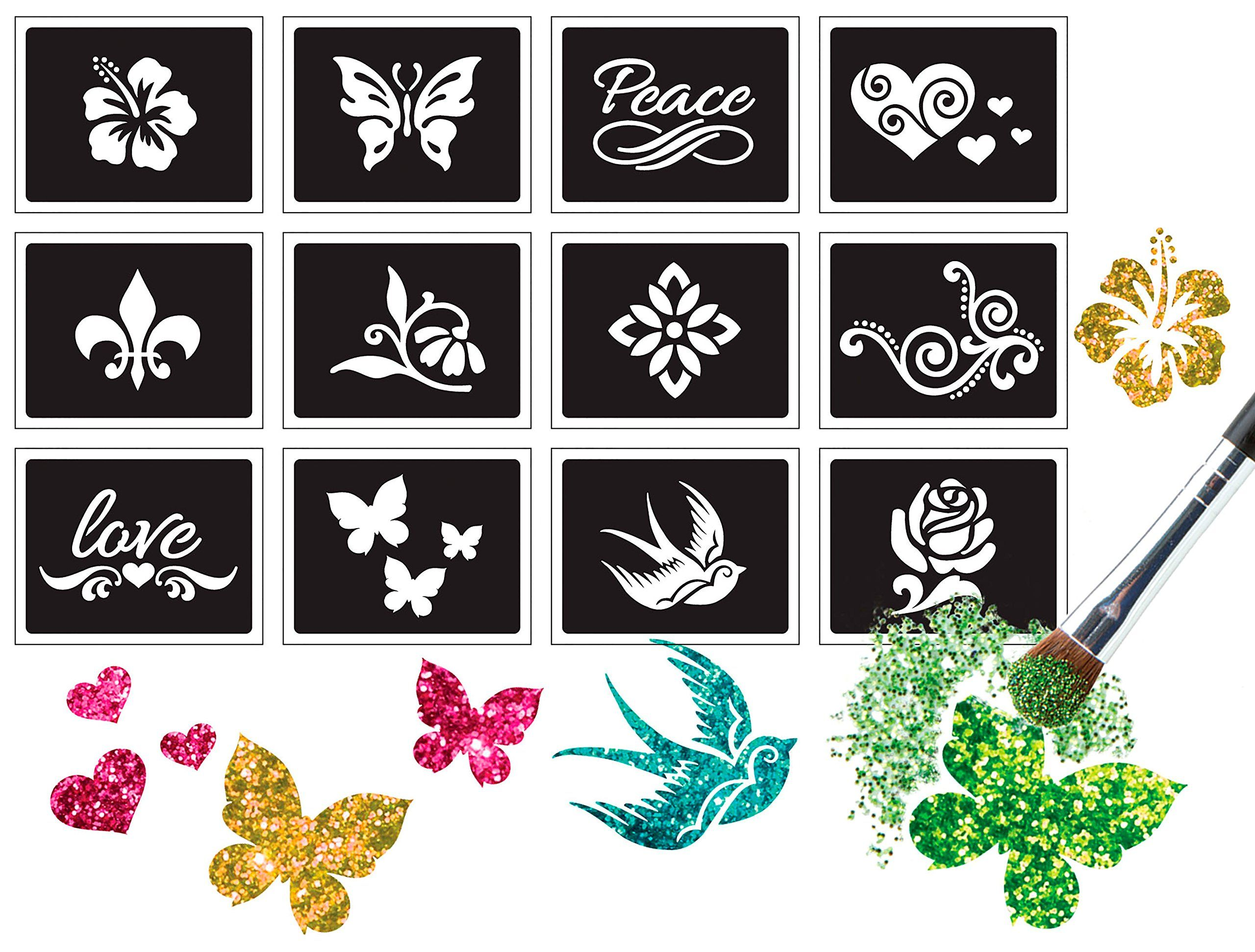 ALEX Spa Fun Sparkle Tattoo Parlor Peace and Love * Want