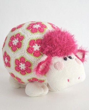 Haakpakket Miss Wooly Patroon Via Woolytoons Haken Pinterest