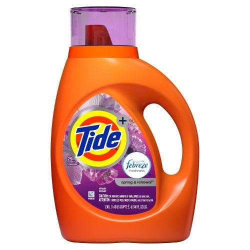 Tide Plus Febreze Freshness Spring And Renewal Scent Liquid