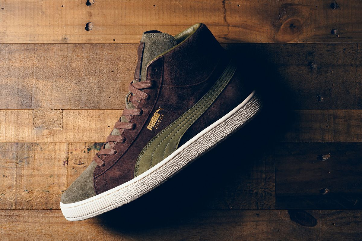 Bobbito Garcia Hooks up Editions of the Puma Clyde & Suede