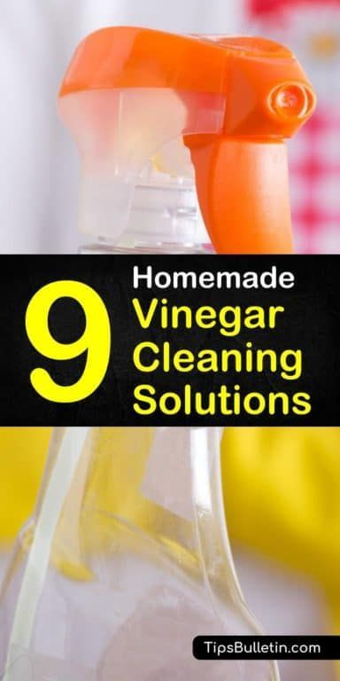 9 Powerful Homemade Vinegar Cleaning Remedies With Images