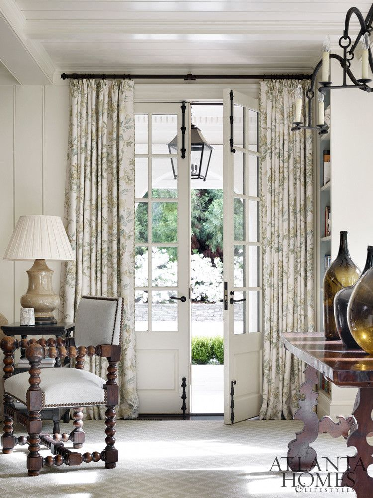 Turning The Page Ah L French Doors Interior French Doors French Country Living Room