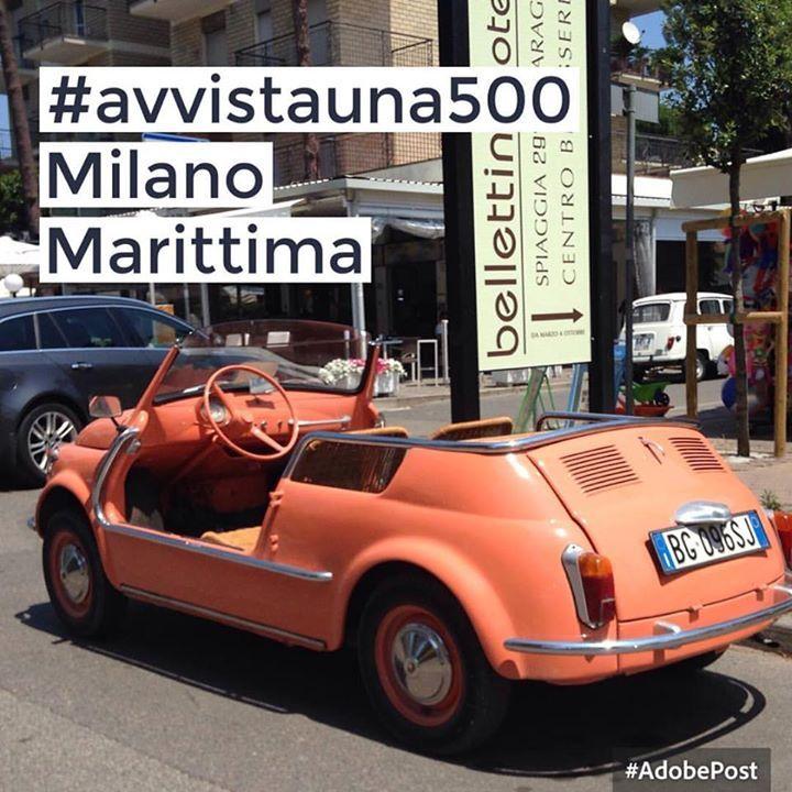#avvistauna500 Dove si trovano le più belle Fiat 500? Oggi ...