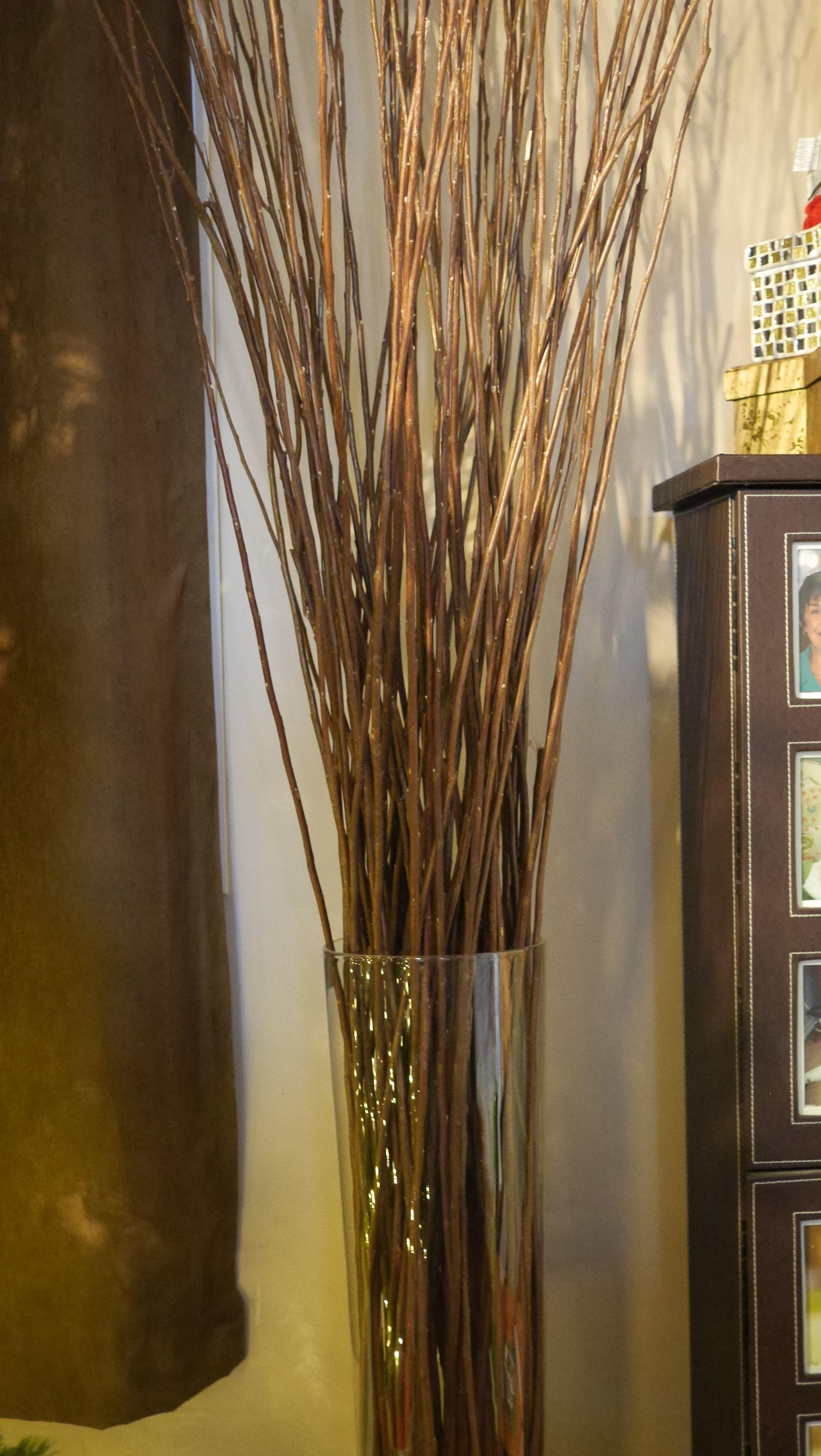 ikea floor vase with twigs  Google Search  Decor ideas