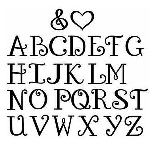 Pretty Bubble Letter Fonts More