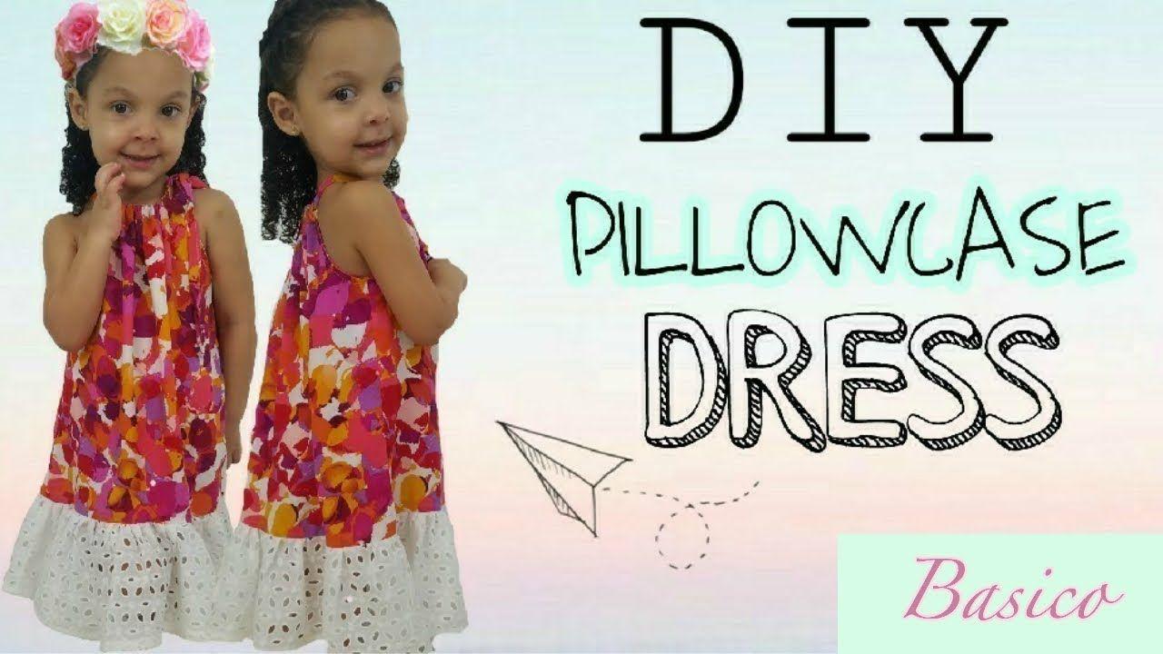 Pillowcase dress   Patrón vestido funda de almohada, Patrón