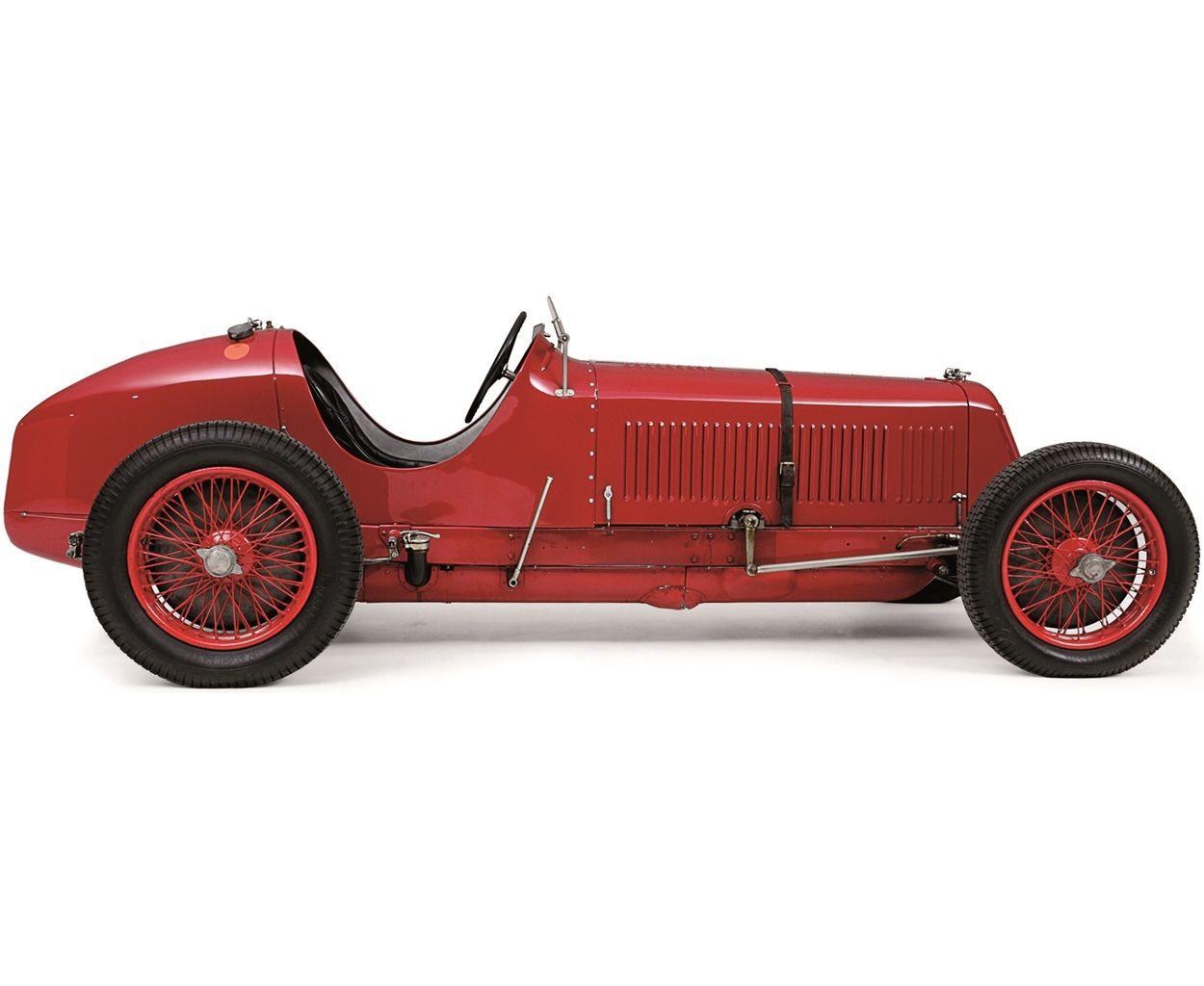 1933 Maserati 8CM Monoposto Grand Prix Car | Maserati, Auto, Oude auto's