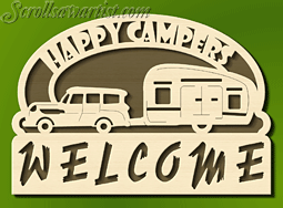 scroll saw patterns of trains | Happy Campers Welcome