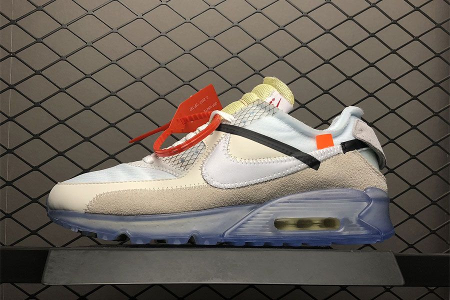 3539aae9c877c OFF-WHITE x Nike Air Max 90 Ice Restock. Where to buy OFF-WHITE x Nike Air  Max 90  Shop Air Max 90 Off-White On FitMySole.