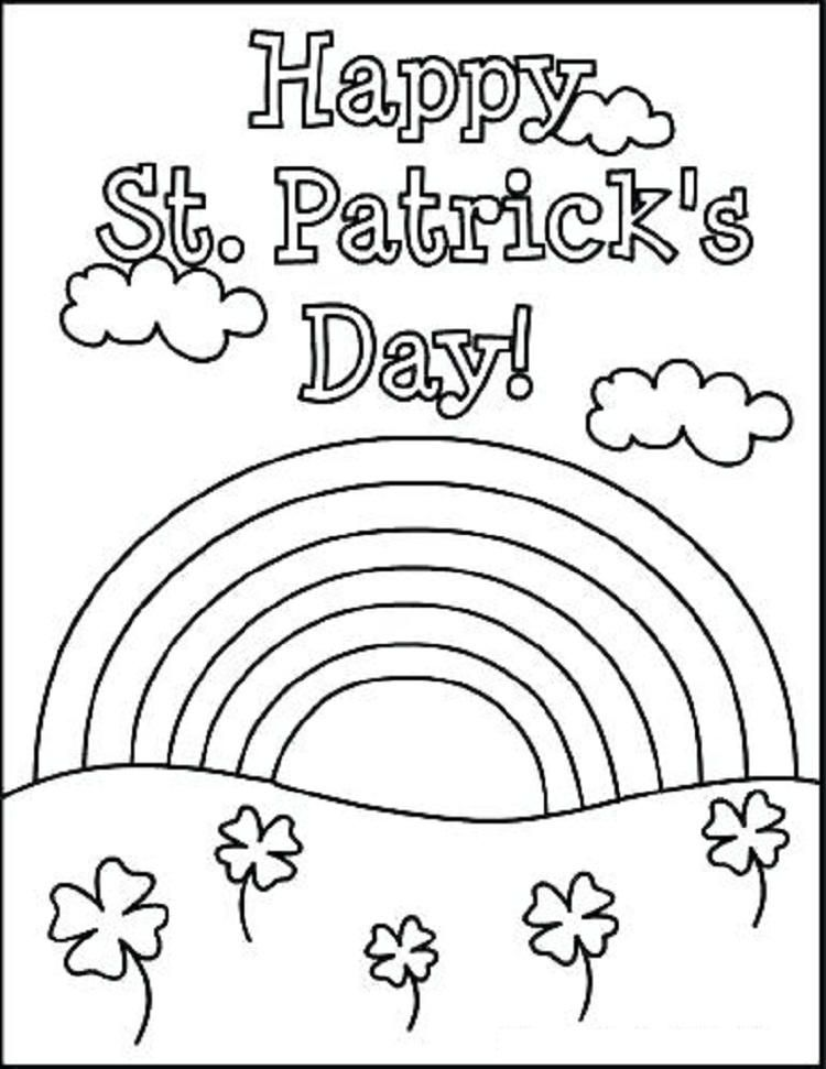 Hello Kitty Coloring Pages St Patricks Day in 2020 (With ...