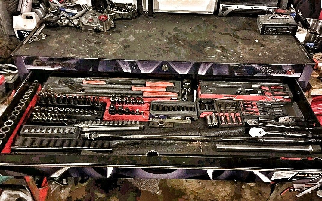 Show us yer tool chest drawer organising - with snap on