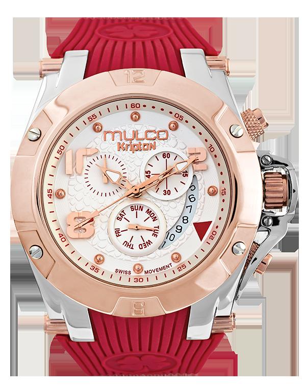 Reloj #Mulco Colección Kripton Color Rojo  MW5-2029-063