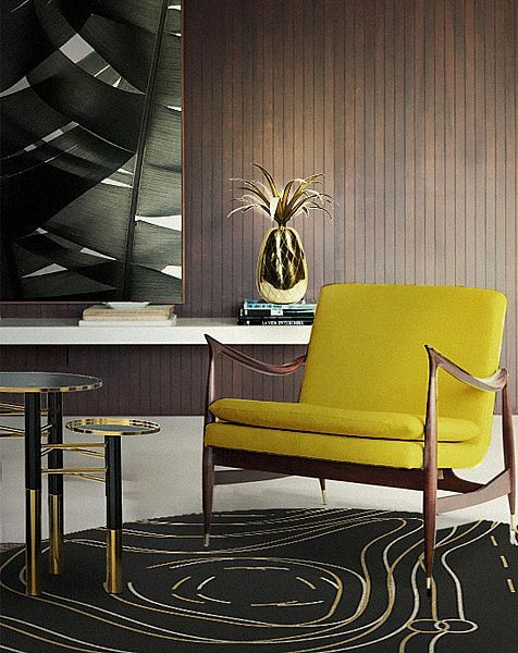 DelightFULL #Teppich Allen bei Villatmode 单人椅、单人沙发 - moderne wohnzimmer teppiche