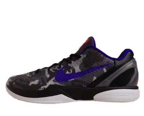free shipping 829ee e34db Nike Zoom Kobe VI X Grey Camo Concord Bryant Lakers