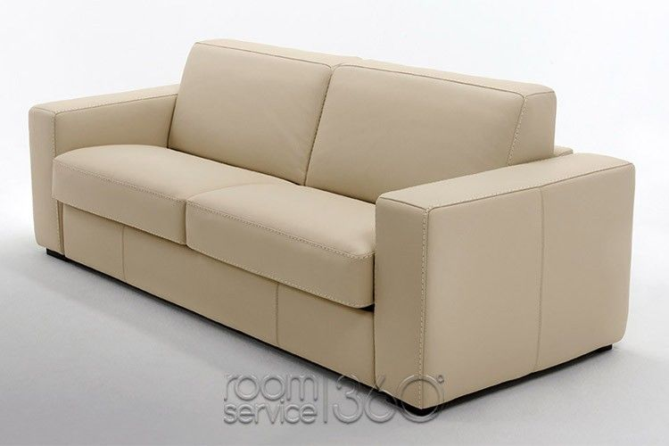 Capri Sofa Bed In C022 Leather By Gamma Arredamenti Sofa Modern Sofa Bed Sleeper Sofa