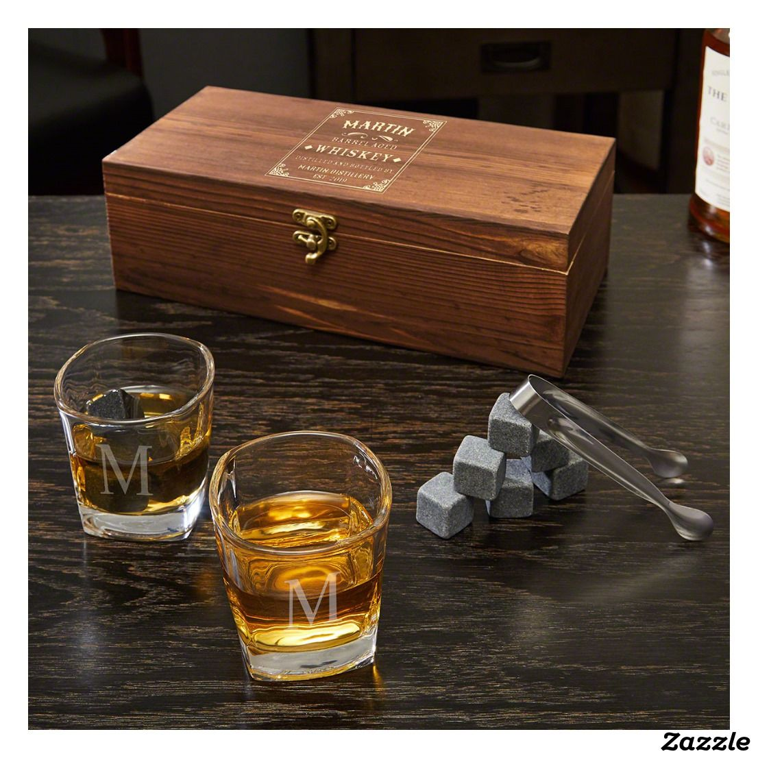 Whisky TUMBLER Coaster Party SET Male WEDDING KEEPSAKE Role For Favour Him