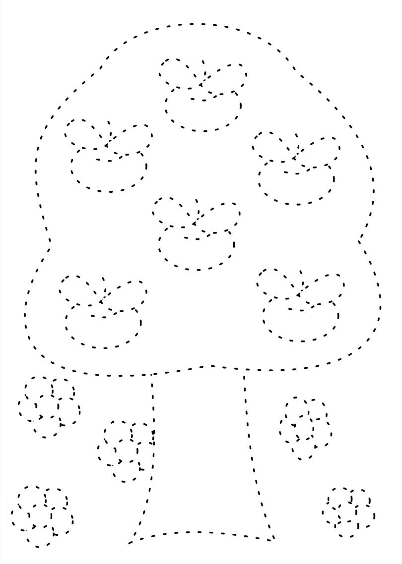 Preschool Tracing Pages Kindergarten coloring pages