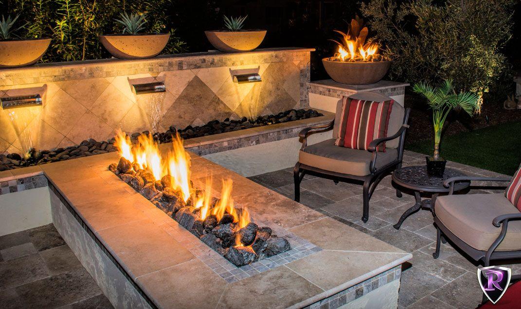 Arizona Royal Fire Features Spas Fire Backyard Outdoor Living