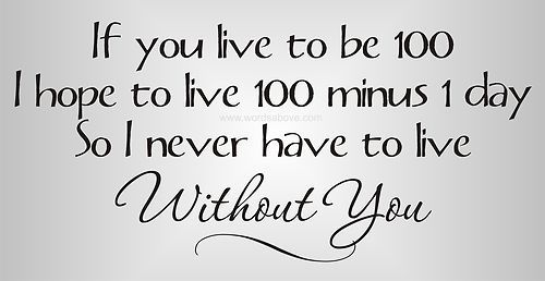 If You Live To Be 100 Vinyl Word Quote Wall Decal Winnie The Pooh