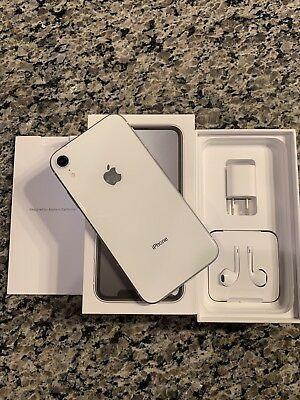Apple iPhone XR - 128GB - White (Unlocked) A1984 (CDMA + GSM) for sale online | eBay