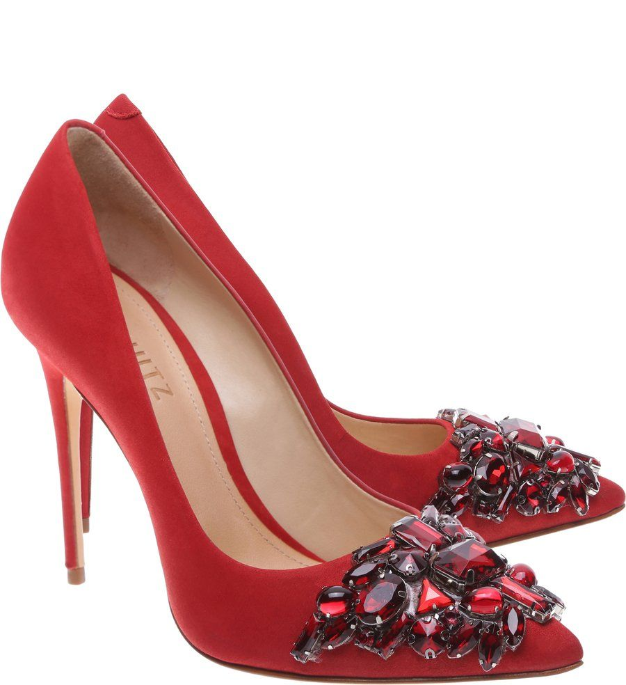 384c10cb21 Scarpin Ruby Stiletto Tango Red