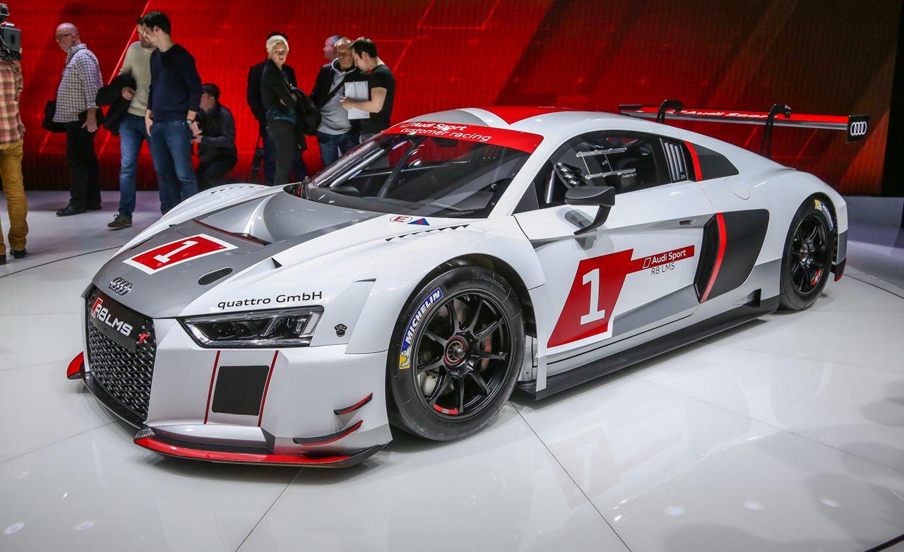 Lovely Audi R8 LMS Race Car