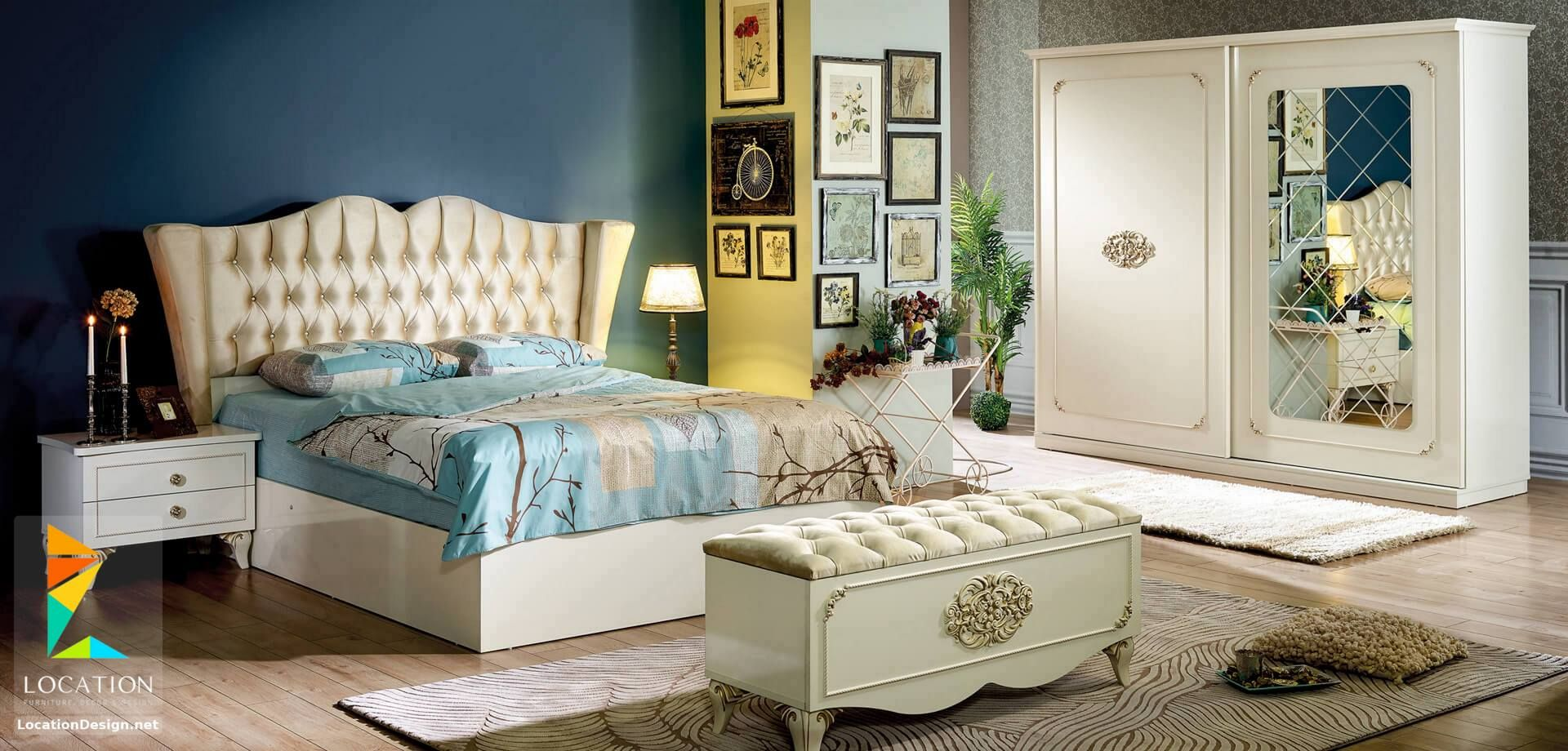 صور غرف نوم 2019 كامله احدث تصميمات غرف النوم للعرسان لوكشين ديزين نت Furniture Home Decor Decor
