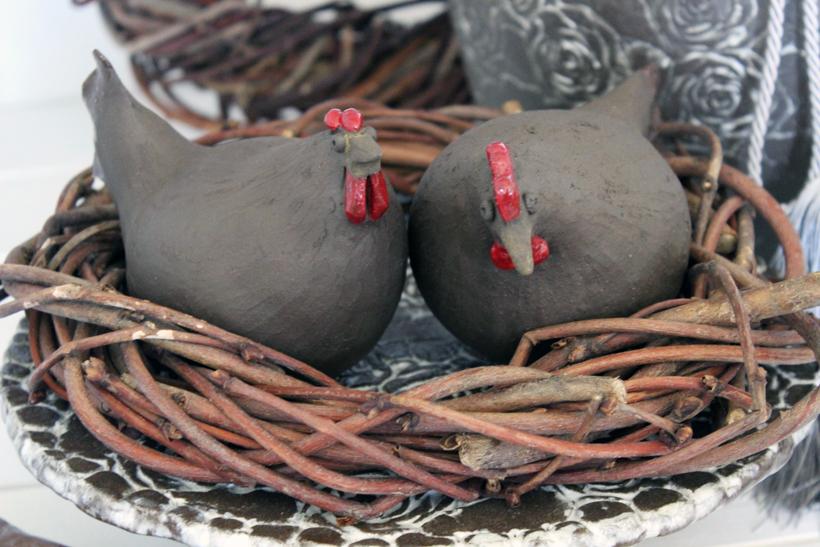 handgefertigte keramik ostern pinterest handgemachte. Black Bedroom Furniture Sets. Home Design Ideas