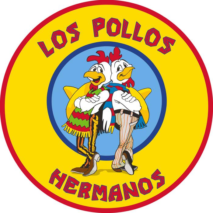 BREAKING BAD Los Pollos Hermanos 90cm x 90cm Rug #NEW Heo