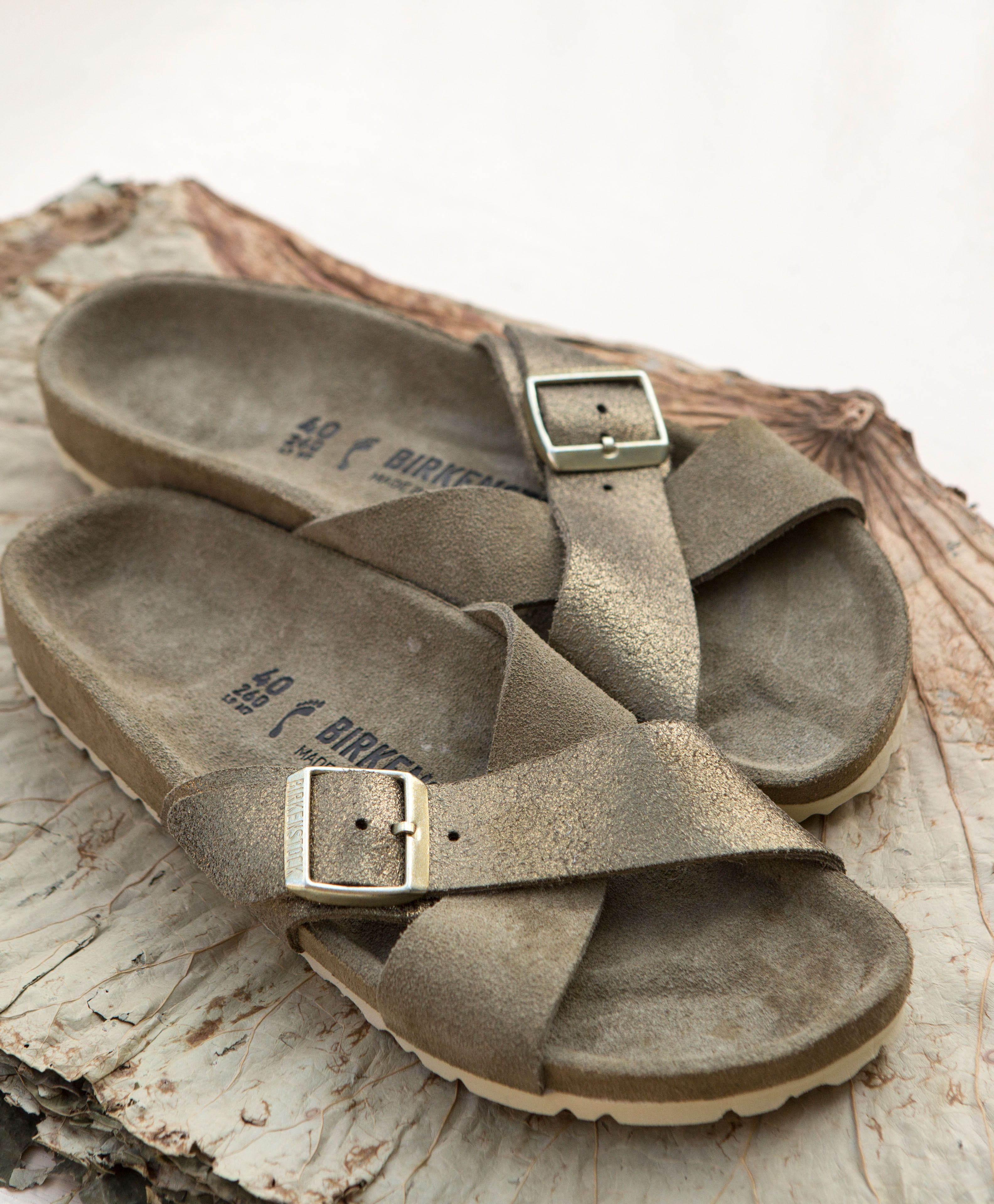 a4ee7afefc3 The Siena Exquisite - an elegant new sandal from BIRKENSTOCK. This  luxurious style features simple crisscrossing straps and an Exquisite  footbed - our ...