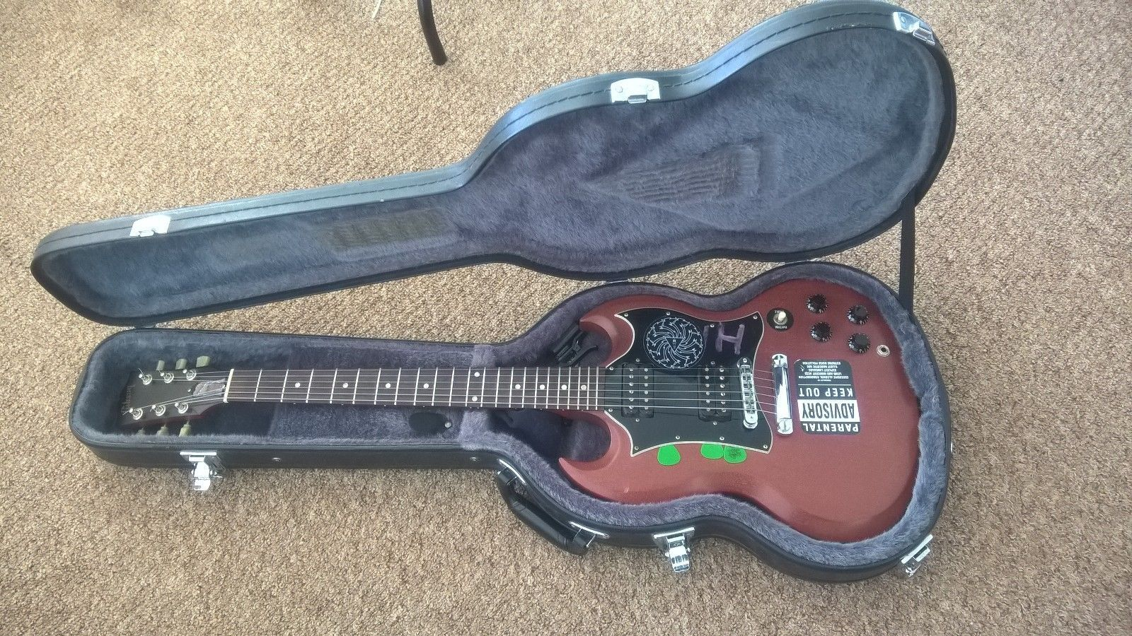 Gibson SG Special Faded with hard case