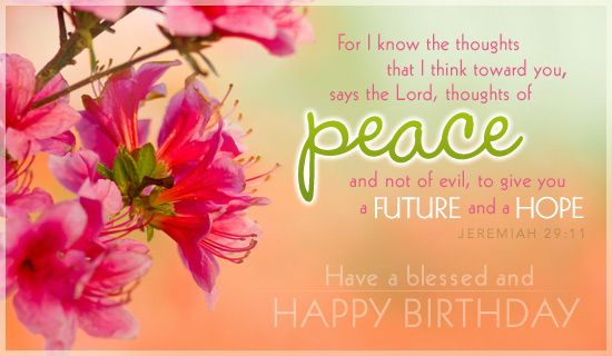Free Blessed Birthday ECard