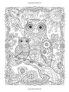 owl coloring pages for adults - Animal Mandala Coloring Pages Owl