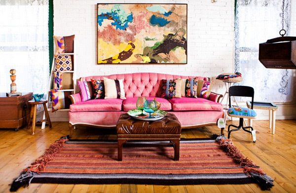 Living Room:Diy Decorating Vintage Retro Traditional Leather ...