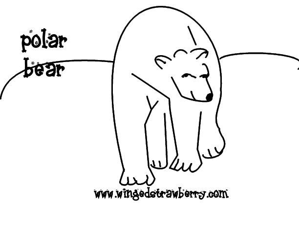 winter theme coloring pages preschool resourceswinter animal polar bear preschool coloring. Black Bedroom Furniture Sets. Home Design Ideas