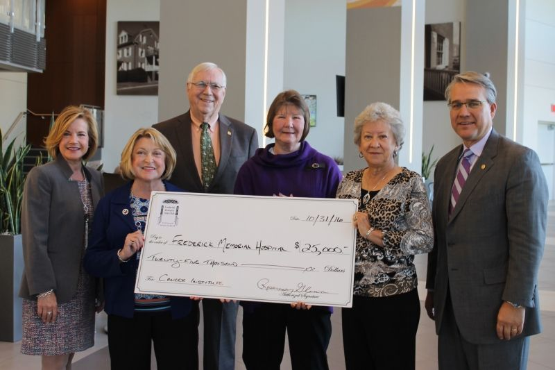 Frederick womans civic club inc donates 25000 to