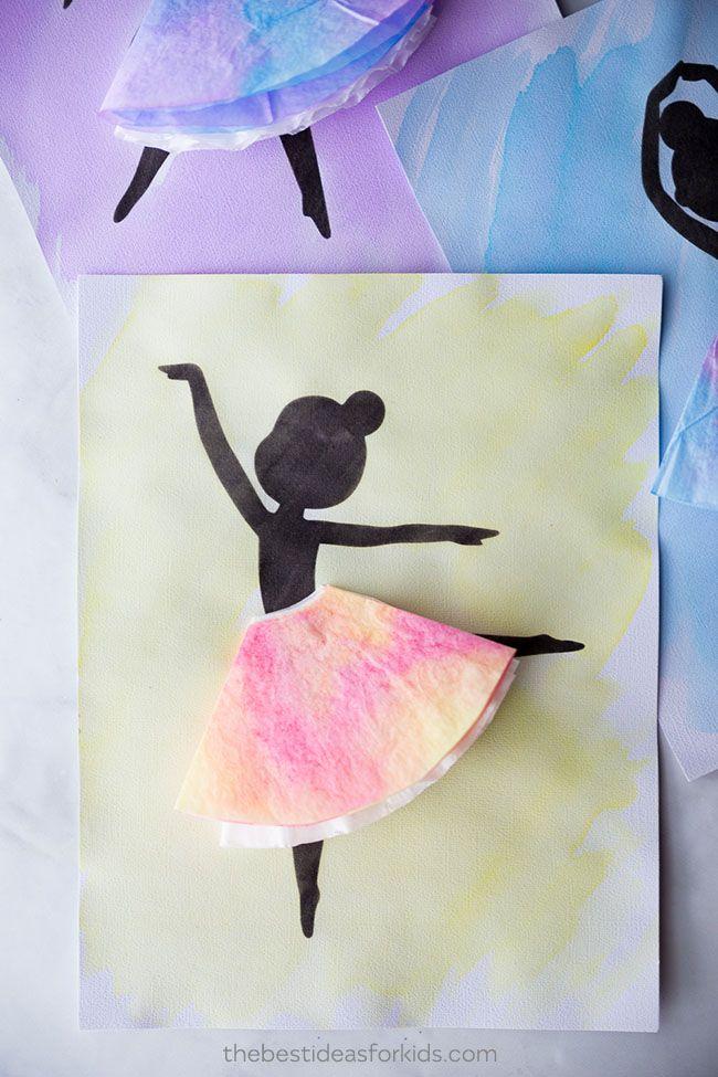 Ballerina Silhouette | Kid Stuff | Ballerina silhouette ...