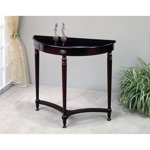 Coaster Traditional Entry Way Console Table Hall Table Cherry