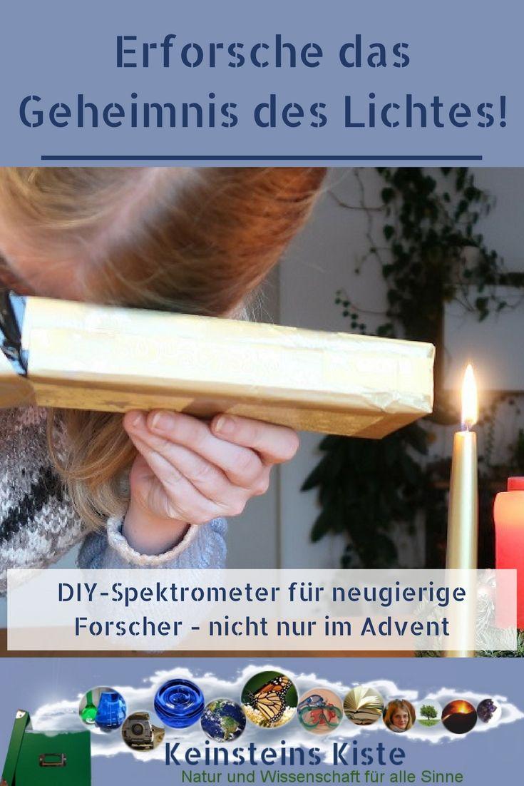 DIY - Spektroskop für Licht-Forscher im Advent - Blogventskalender ...
