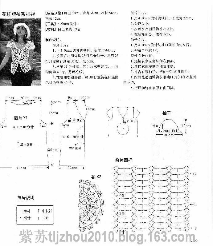 (中文版)日韩火热钩针衫(下) - 紫苏 - 紫苏的博客