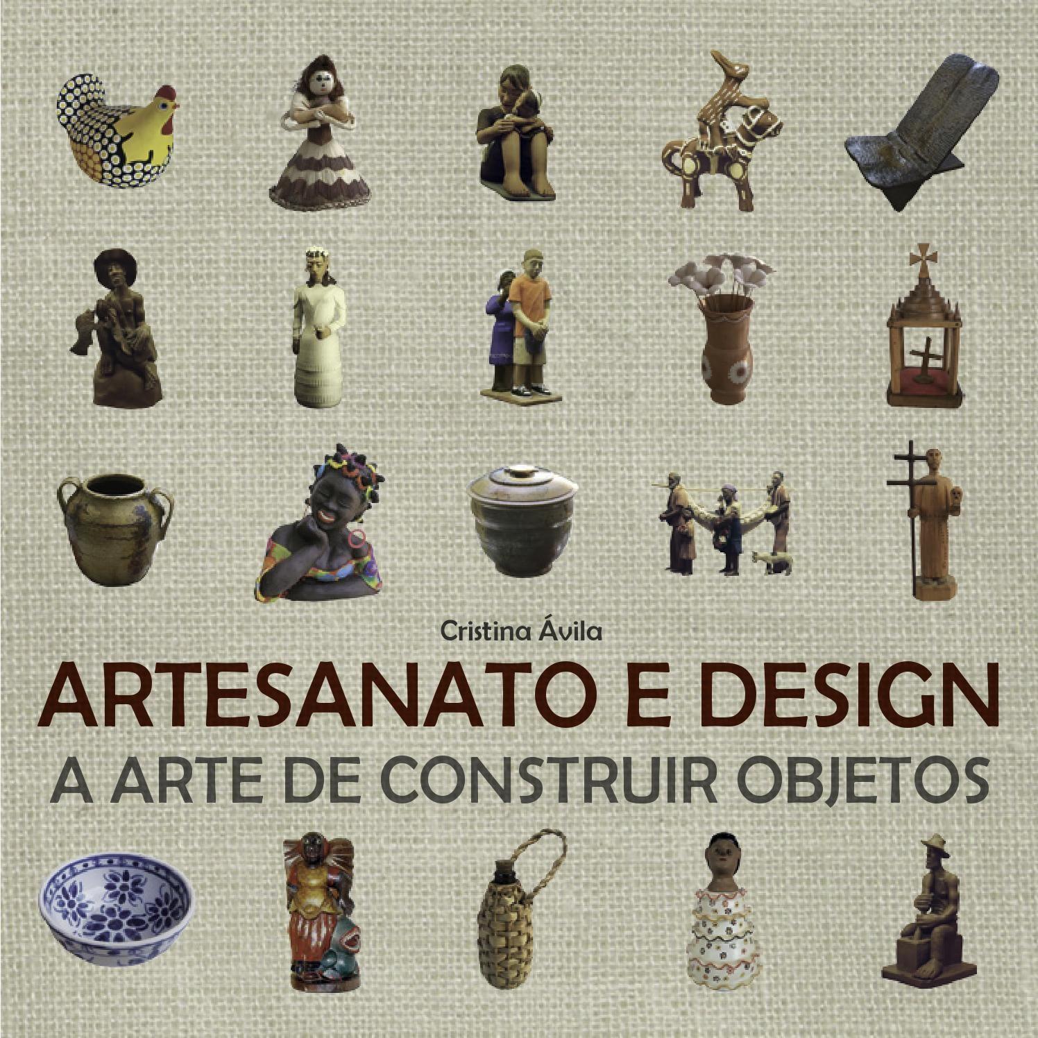 Artesanato e Design  Livro Artesanato e Design - A arte de construir objetos