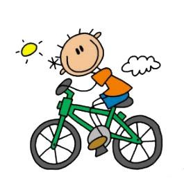 Activity 10 Bike Drawing Bicycle Drawing Stick Figures