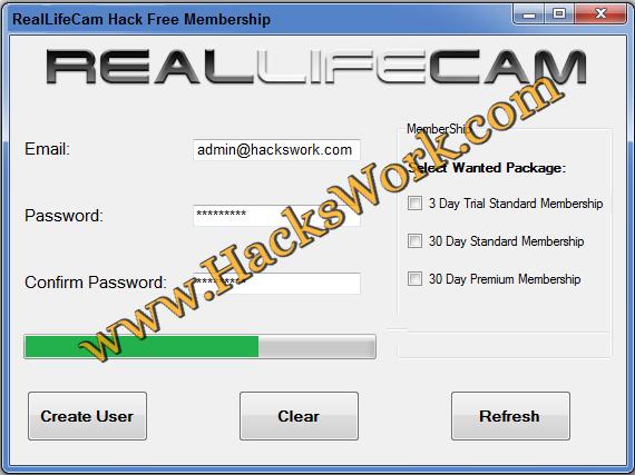 reallifecam com free premium account