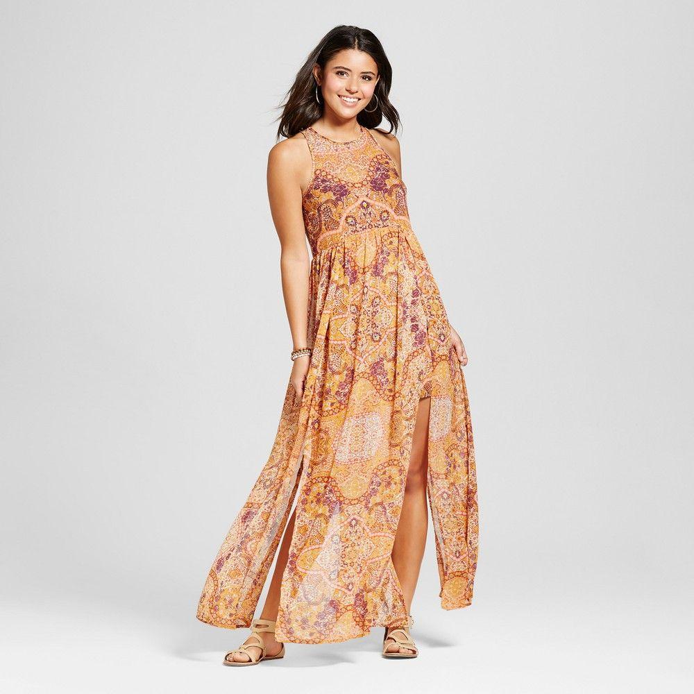 Women S Car Wash Maxi Dress Xhilaration Juniors Gold Tribal Maxi Dresses Maxi Dress Dresses [ 1000 x 1000 Pixel ]