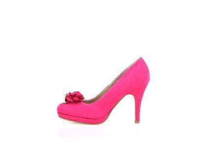 263e0bc67c3 Růžové semišové boty na podpatku Tamaris  fashion  tamaris  shoes  zoot