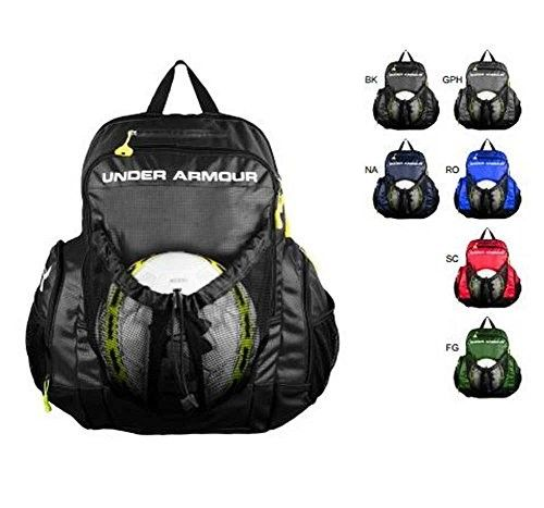 cf7ac4566e Under Armour Striker Soccer Backpack Black Size One Size