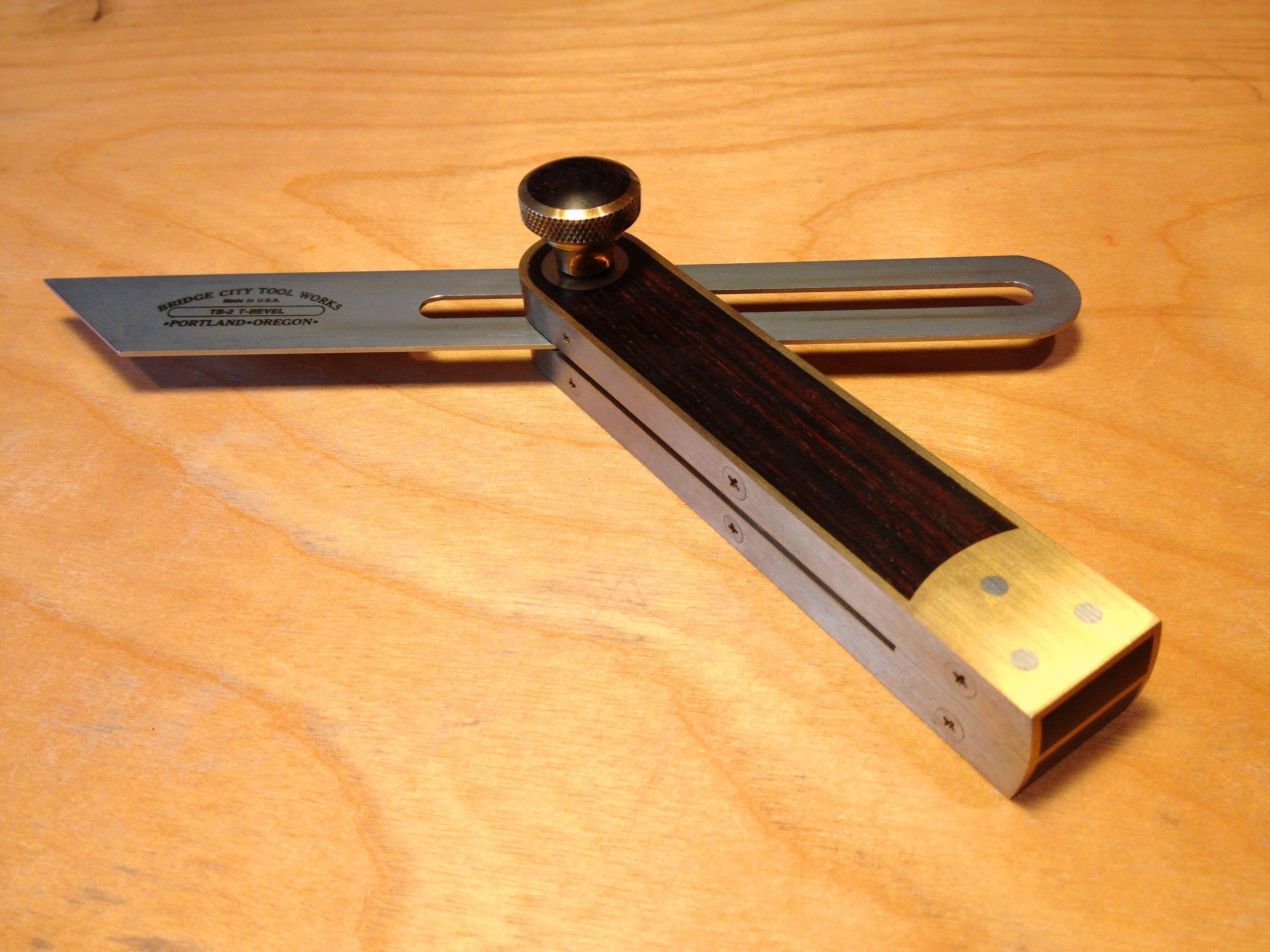 Bridge City Tool Works Tb 2 Sliding Bevel Vintage