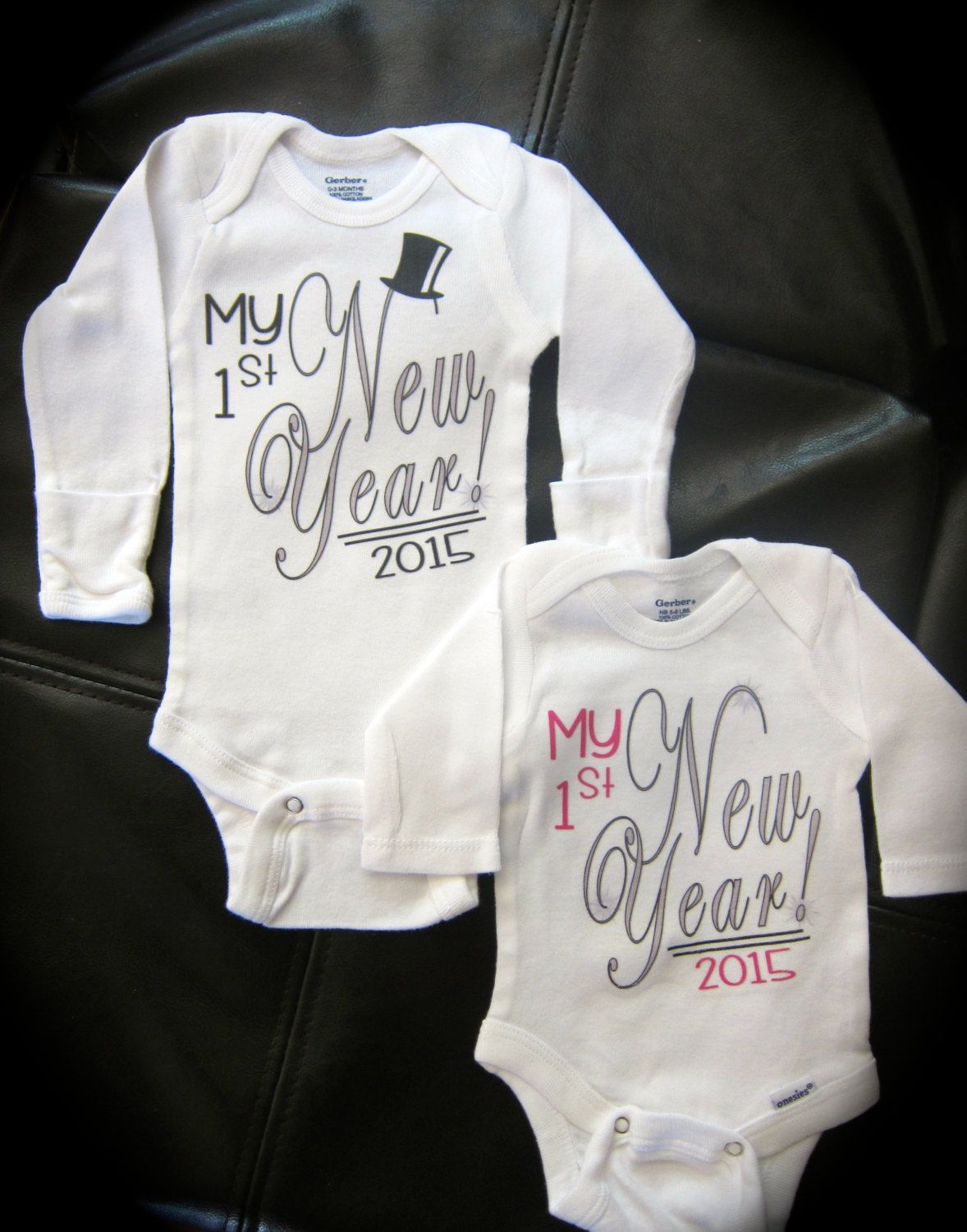 Baby's 1st New Year! gift novelty Happy New Year Baby